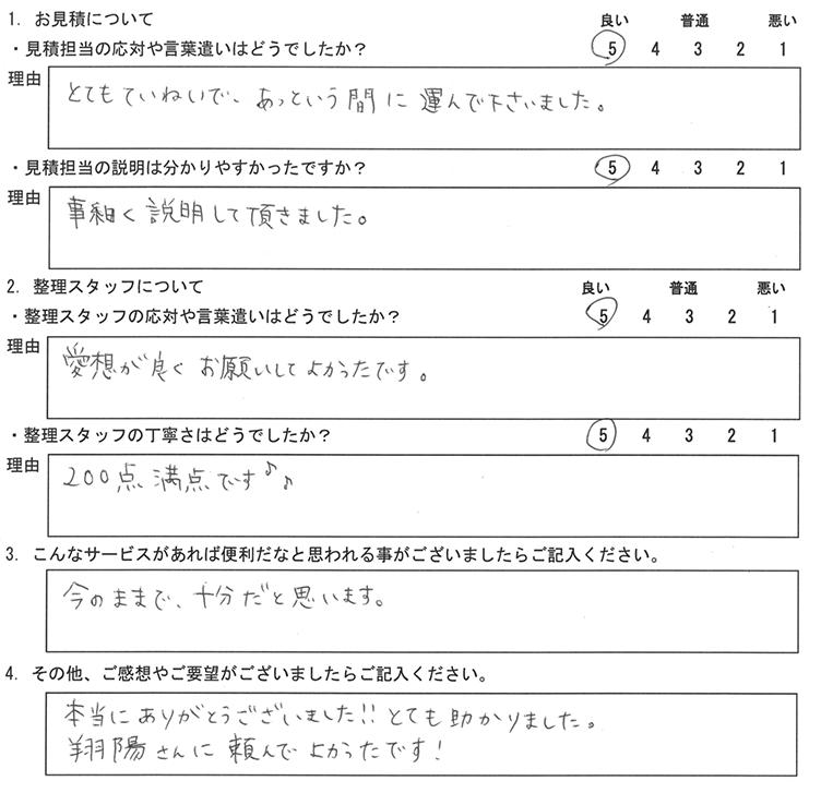 東京都 Y・T 様