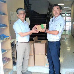 支援活動・書籍の寄贈